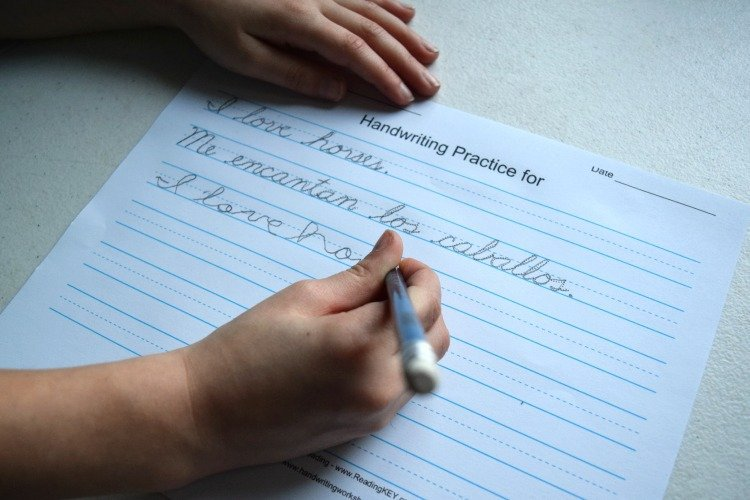 Handwriting improvement for kids in pcmc